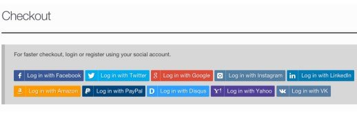 WooCommerce Social Login