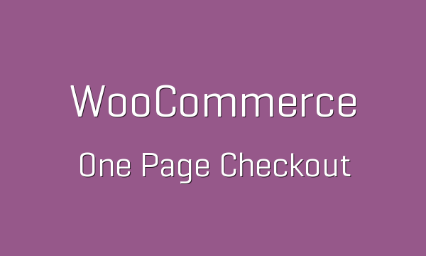 woocommerce one page checkout 1 5 3