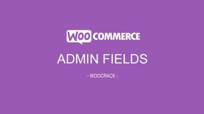 woocrack admin fields