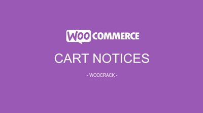 woocrack cart notices
