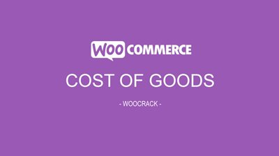 woocrack cost of goods