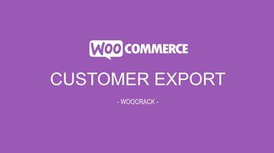woocrack customer export
