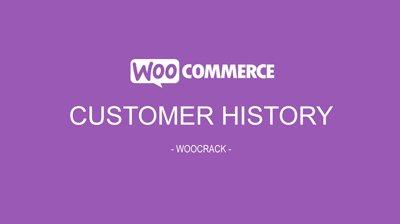 woocrack customer history