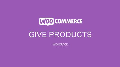 woocrack give products