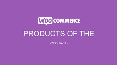 woocrack products of the day