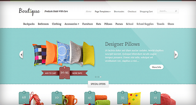 Elegant Themes Boutique WooCommerce Themes