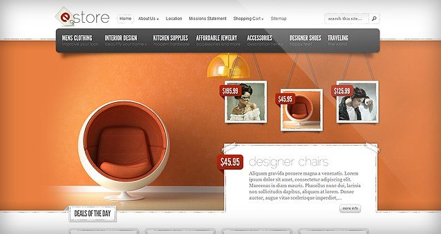 Elegant Themes eStore WooCommerce Themes