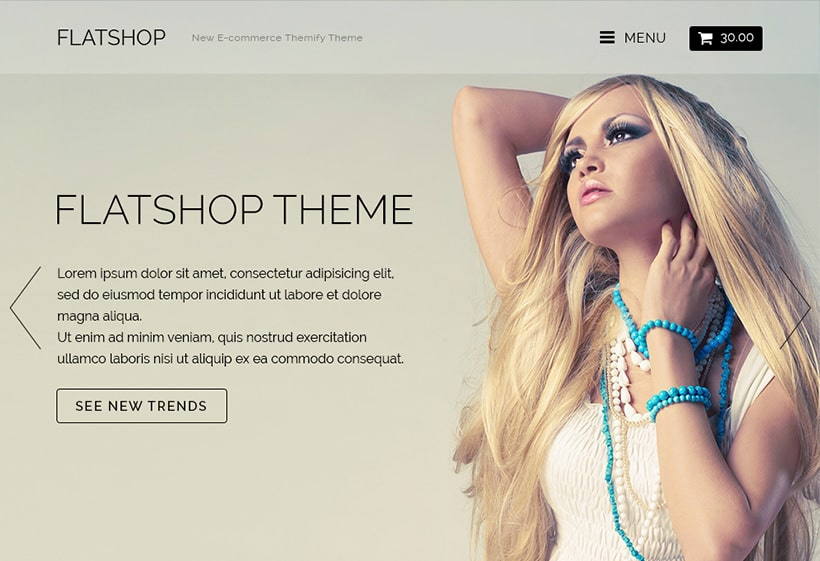 Themify Flatshop WooCommerce Themes