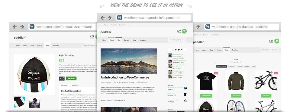 WooThemes Peddlar WooCommerce Themes