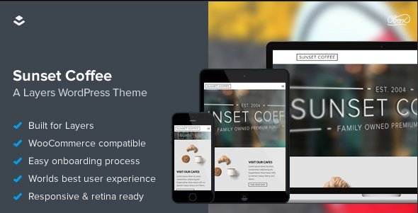 OboxThemes Sunset Coffee WooCommerce Themes