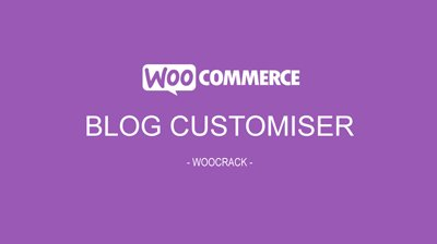 woocrack blog customiser