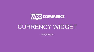 woocrack currency widget