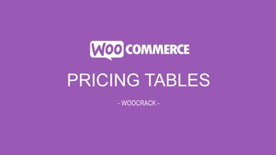 woocrack pricing tables