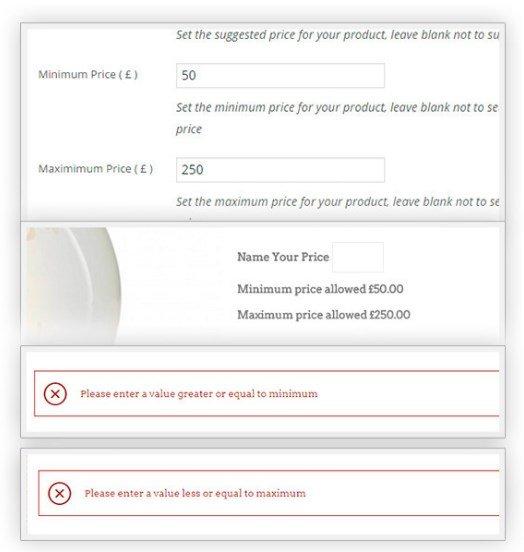 YITH WooCommerce Name Your Price Premium