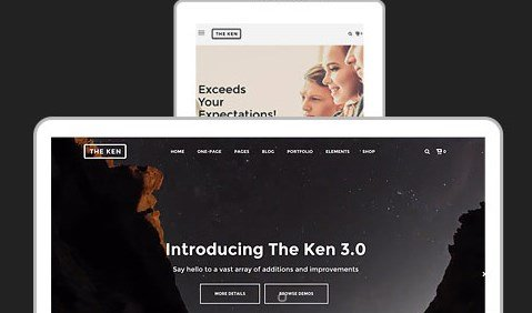 The Ken - Multi-Purpose Creative WordPress Theme