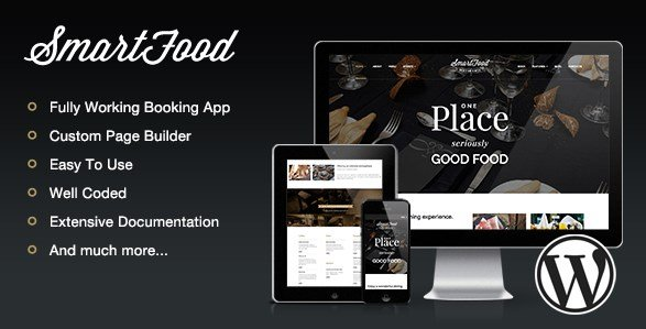 SmartFood - Restaurant, Cafe, Bistro WordPress Theme