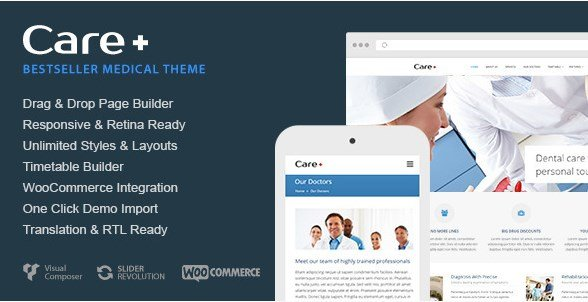 care   medical and health blogging wordpress theme 4 6 8