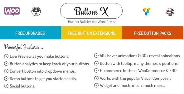 Buttons X - Powerful Button Builder for WordPress