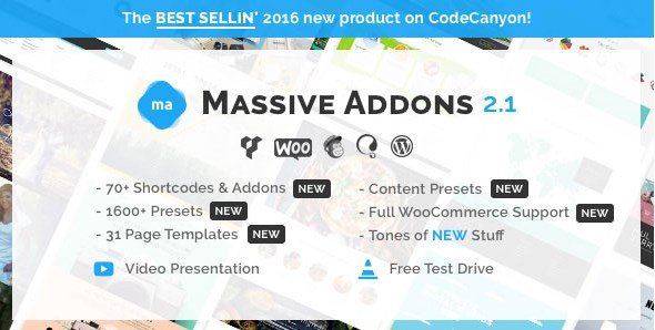 Massive Addons for Visual Composer