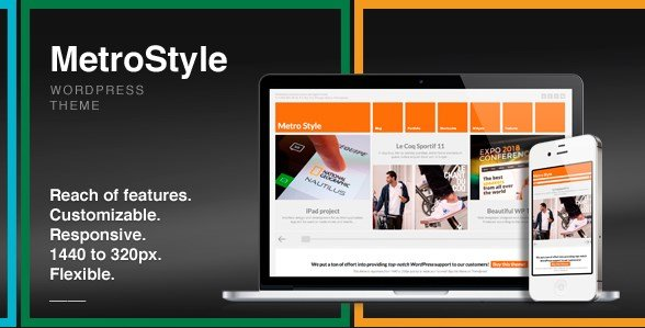MetroStyle - Responsive All Purpose WordPress Theme