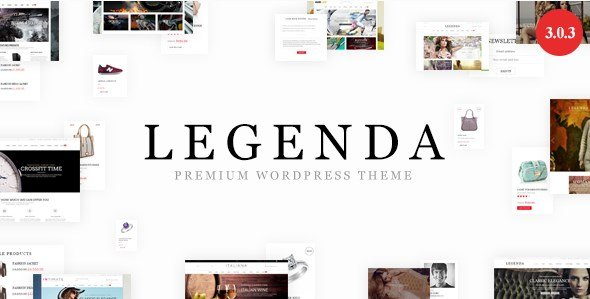 Legenda - Responsive Multi-Purpose WordPress Theme