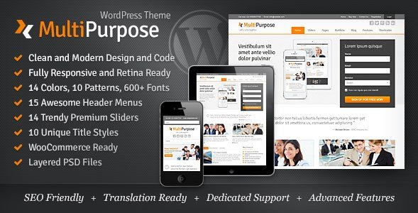 MultiPurpose - Responsive WordPress Theme