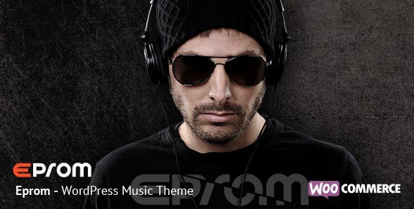 Epron - WordPress Music Band & Musician Theme