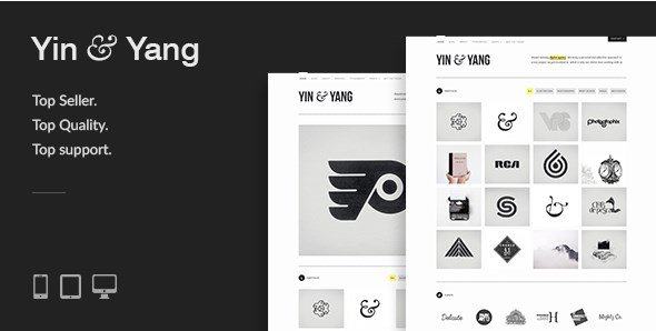 Yin & Yang - Modern Responsive Clean & Creative WordPress Theme