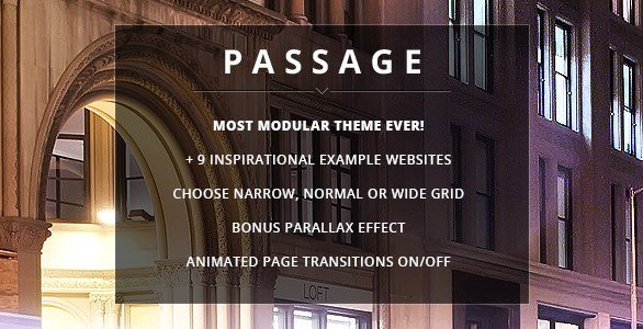Passage - Responsive Retina Multi-Purpose Theme