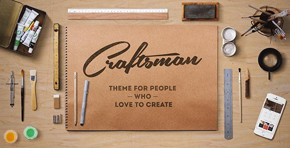 Craftsman - WordPress Craftsmanship Theme