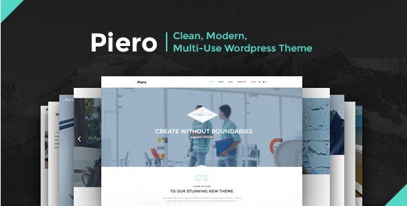 PIERO - Clean Modern Multi-Use Wordpress Theme