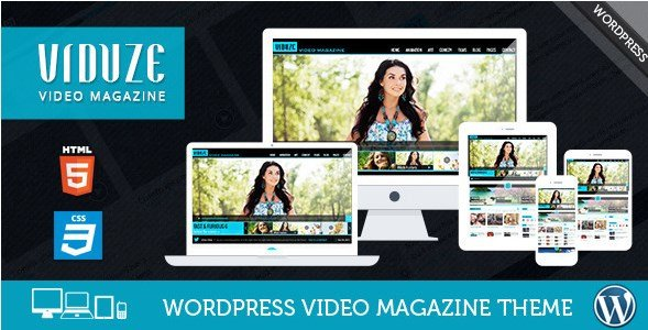 Viduze - Video WordPress Theme