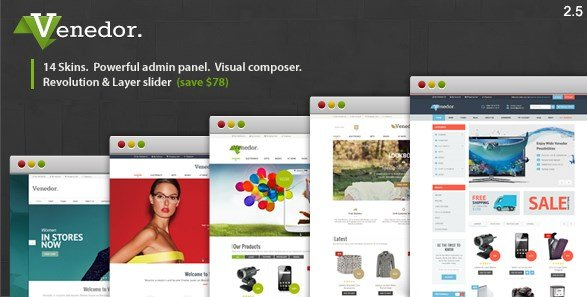 Venedor - WordPress + WooCommerce Theme