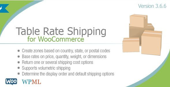 Table Rate Shipping For WooCommerce By Bolderelements