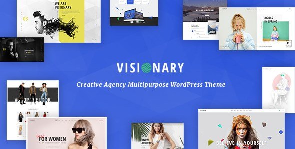 Visionary - Creative Agency Multipurpose WordPress Theme