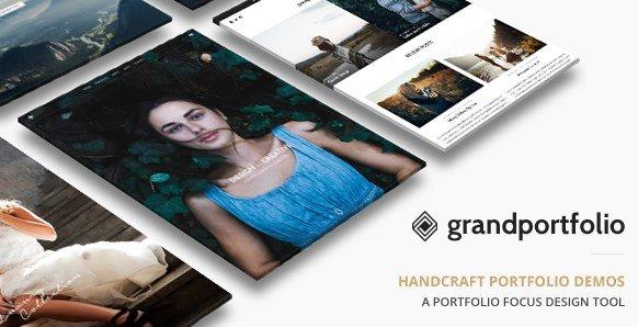 Grand Portfolio - Responsive Portfolio