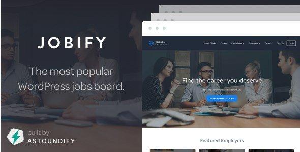 Jobify - WordPress Job Board Theme
