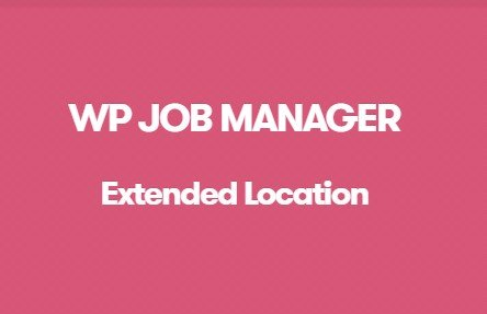 WP Job Manager Extended Location Addon