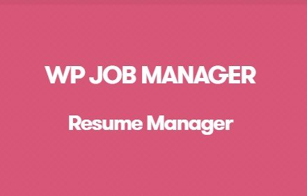 WP Job Manager Resume Manager Addon