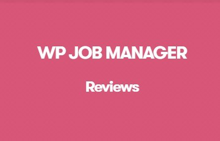 WP Job Manager Reviews Addon