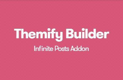 Themify Builder Infinite Posts Addon