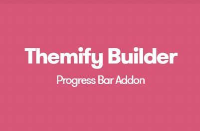 Themify Builder Progress Bar Addon