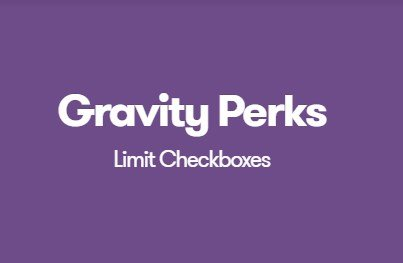 Gravity Perks Limit Checkboxes