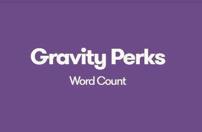 Gravity Perks Word Count
