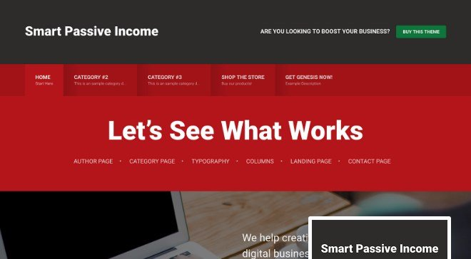 StudioPress Smart Passive Income Pro Theme