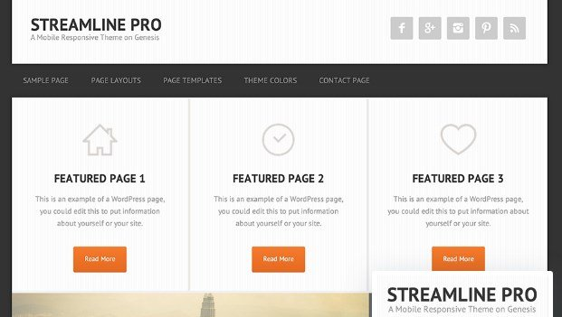StudioPress Streamline Pro Theme