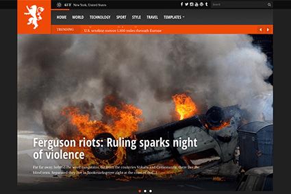 CSS Igniter Tabloid WordPress Theme
