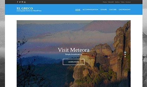 CSS Igniter El Greco WordPress Theme