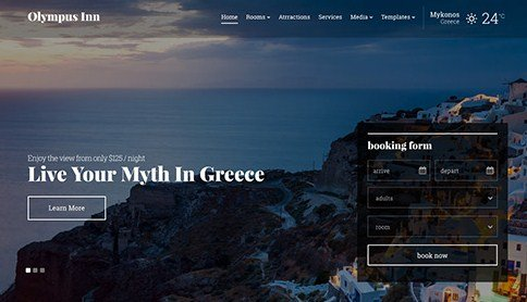 CSS Igniter Olympus Inn WordPress Theme