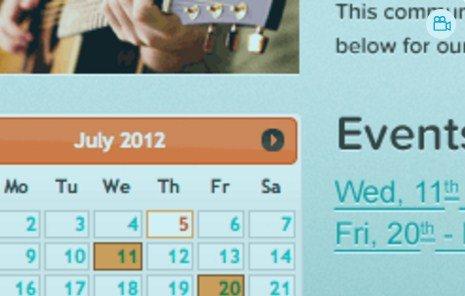 WPMU DEV BuddyPress Group Calendar